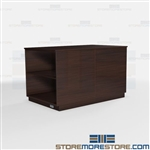 Mailroom Work Counter Islands Millwork Furniture Environmental Friendly Casework