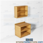 Copy Area Wall Cabinets Office Supplies Storage Organization Counter Millwork