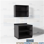 Copy Area Storage Cabinet Office Casework Millwork Movable Reusable Sustainable