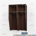 Wall Mounted Wood Locker - Mudroom Wood Coat Rack Prices