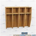 Sports Uniform Lockers - Wood Laminate Athletic Storage Solutions