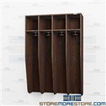 Wall Mounted Lockers - Huge Savings Over Solid Wood with Laminate