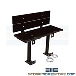 Jail Handcuff Bench