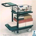 Executive Mail Cart, office handcart,Luxi-Flex high quality Mail buggy