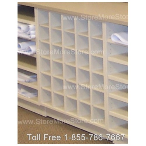 Rolled plan drawing cubbyhole counter storage cabinet blueprints plan drawing cubbyhole storage units malvernweather Choice Image