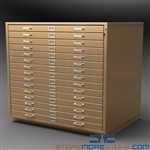 Mobile Flat File Cabinets Plan Storage 15 Drawer Rolling Blueprint Flat File