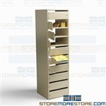 Pass Through Wall Mail Slots Interoffice Mailboxes Sorting Station Locking Doors