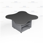 Copy Room Casework Island Office Workcounter Desk Storage Furniture Case Goods