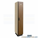 keyless wardrobe locker