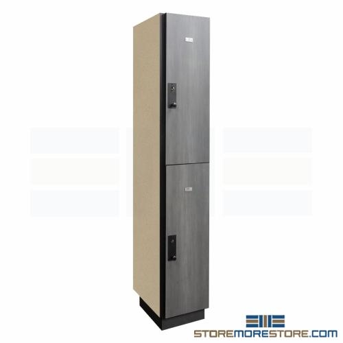 Attrayant Free Shipping On Double Tier Wood Laminate Lockers