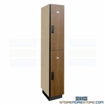 Double-Tier Laminate Locker