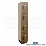 Keypad Locking Storage Cubbies