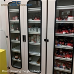 Chemical Storage Cabinet with Glass Doors