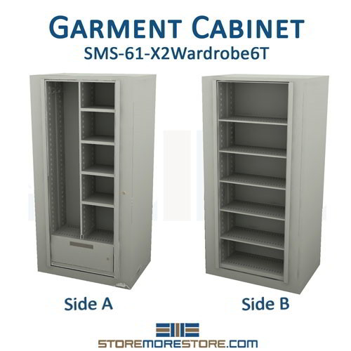 Times-Two Spinning Storage Wardrobe Cabinet Storing Coats Supplies ...