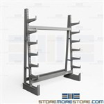 Tubing Storage Rack | Industrial Grade Cantilever Storage Shelving