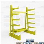 Cantilever Racks for Steel Angle | Cantilever Industrial Grade Storage Shelving