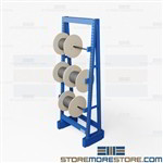 Bulk Reel Rack | Heavy Duty Wooden Drum Storage Rack