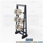 Large Reel Dispenser Rack | Electric Cable Storage Racks