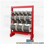 Wire Reel Storage Racks | Cable Reel Racks