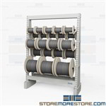 Cable Reel Storage Racks | Cable Spool Racks for Sale