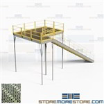 Warehouse Storage Platforms Freestanding Mezzanine Second Story Floorspace