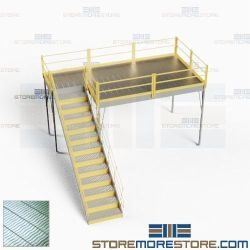 Structural Platform Mezzanines Warehouse Storage Second Deck Level Floorspace