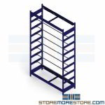 Wire Spool Shelving Reel Storage Racks Cable Rods Adjustable Organize Chain Hose