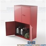 Oversized Luggage Storage Lockers Ventilated