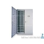"Large Herbarium Storage Cabinet, includes 52 compartments, 56"" w x 22"" d x 84"" h, #SMS-66-H60"