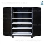 Wide Museum Storage Cabinet, Geological Rock Cabinets
