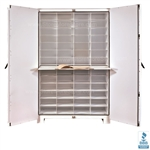 Large Botanical Cabinet, Herbarium Plant Collection Storage