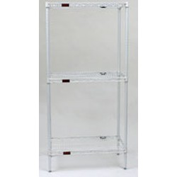 "24"" x 42"" White, Stand-Outs Decorative Shelf, #SMS-69-2442W"
