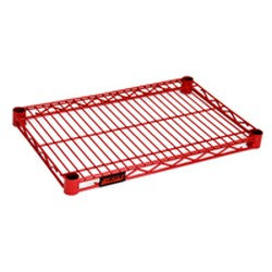 "24"" x 72"" Red, Stand-Outs Decorative Shelf, #SMS-69-2472R"