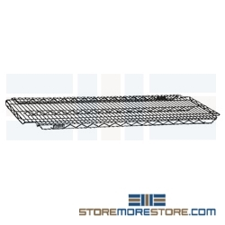 "14"" x 48"" Eaglebrite® Zinc, Add-A-Shelf® Adjustable Wire Shelf, #SMS-69-A1448Z"