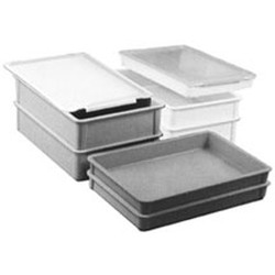 "3"" Deep Stacking Molded Fiberglass Box, 15-7/8"" x 23-7/8"" Inside Dimensions, 17-3/4"" x 25-3/4"" Outside Dimensions, #SMS-69-A208506"