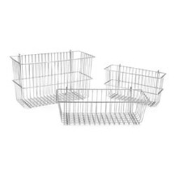 "17-3/8"" x 7-1/2"" x 10"" Storage Basket, #SMS-69-A216652"