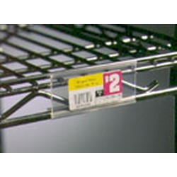 "3"" Plastic Label Holders for Reverse Mat Shelves. Fits All Shelf Lengths, #SMS-69-A225494"