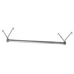 "30"" Chrome Finish, Replacement Garment Hanger Tube, #SMS-69-CH30"
