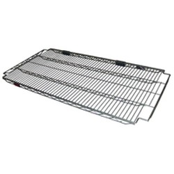 "18"" x 48"" Eaglebrite® Zinc, Add-A-Shelf® Reverse Mat Wire Shelf, #SMS-69-D1848Z"
