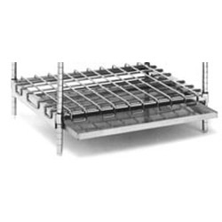 "24"" x 48"" Optional Drip Pan Rack for Tank Racks, #SMS-69-DP48"