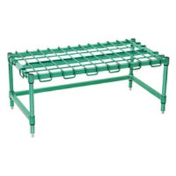"21"" x 48"" Eaglegard® Green Epoxy Dunnage Rack, #SMS-69-DR2148-E"