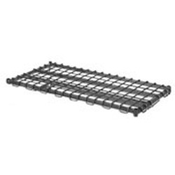 "21"" x 24"" Chrome Dunnage Shelf, #SMS-69-DS2124-C"