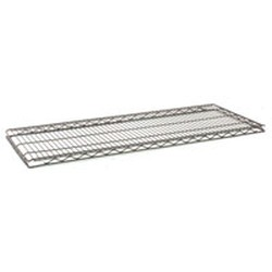 "18"" x 48"" Black, Stand-Outs Gondola Wire Shelf, #SMS-69-HG1848BL"