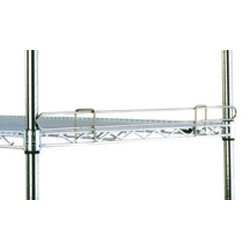 "14"" Long Chrome, Stand-Outs, Decorative 1"" High Ledge, #SMS-69-L14-1C"