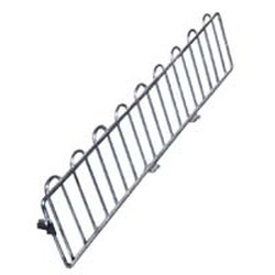 "18"" Black Shelf Divider, #SMS-69-M18BL"