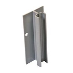 "108"" Regular Grey Epoxy Standard Upright for Cantilevered Shelving System, #SMS-69-MMU-9"
