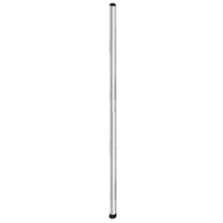 "14"" Stainless Steel Stationary Post - Lifestor® Shelving, #SMS-69-PP14-S"