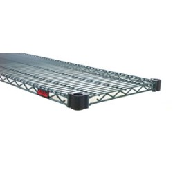 "18"" x 48"" Valu-Gard® Green Epoxy, Quad-Adjust® Wire Shelf, #SMS-69-QA1848VG"