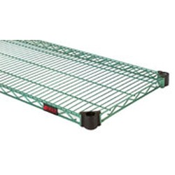 "18"" x 48"" Eaglegard Hybrid Epoxy with Microgard, Quad-Adjust Reverse Mat Shelf, #SMS-69-QAR1848E"