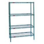 Material handling wire storage racking for storage of Bulk Items, Linens, Boxes